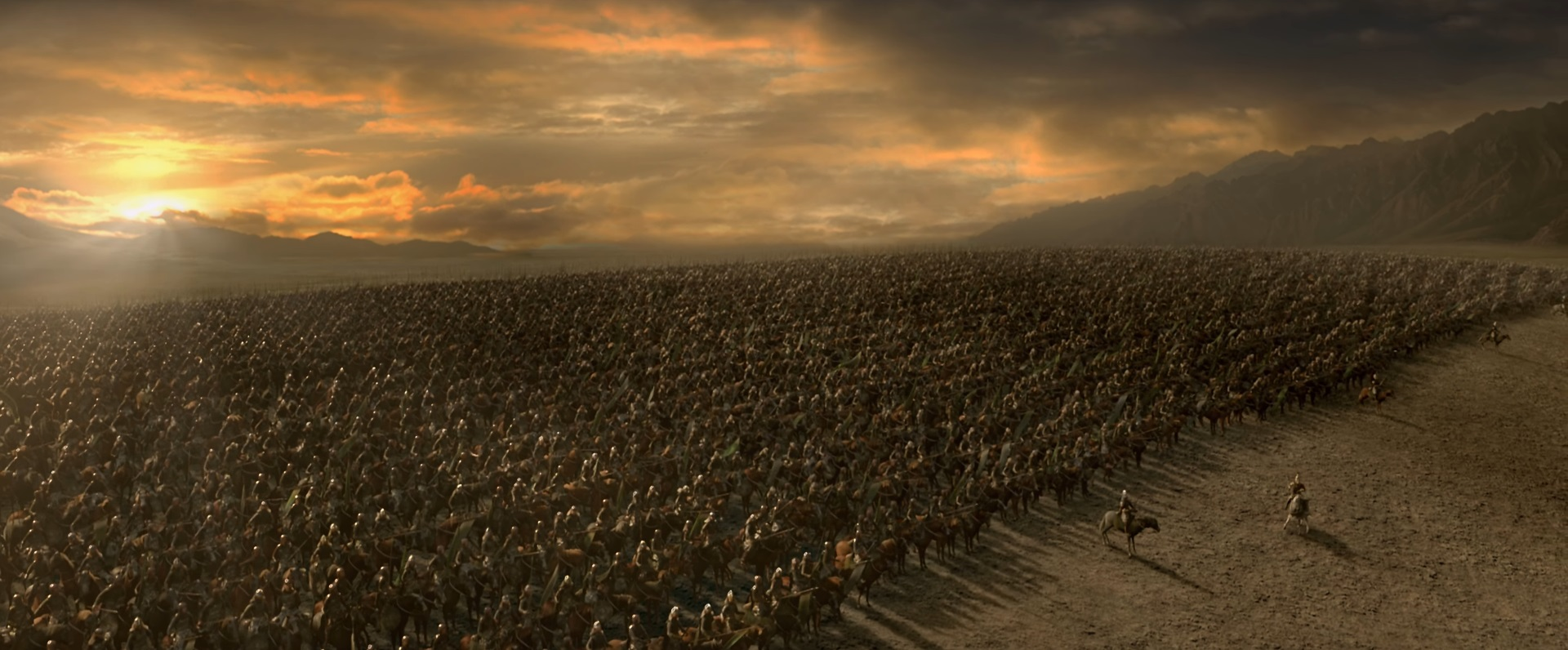 Image result for the battle of the pelennor fields