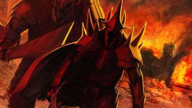File:Rogash and the Witch-King successfully crashed Fornost, the ancient capital city of Men.JPG