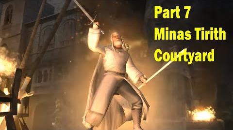 Minas Tirith - Courtyard