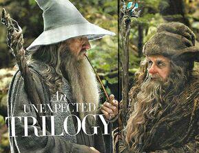 Radagast and Gandalf2