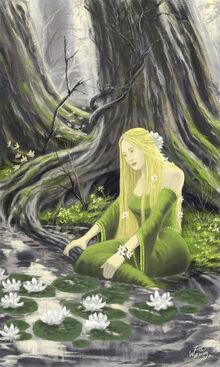 Tolkien Goldberry by WF74