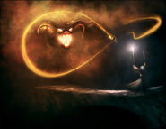 Gandalf vs the balrog by yamoshi-d6eq2ke