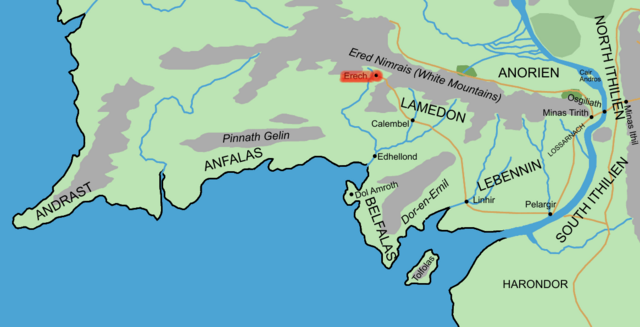 File:GONDOR ERECH location map in middle earth.PNG