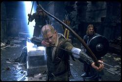 Legolas in Moria