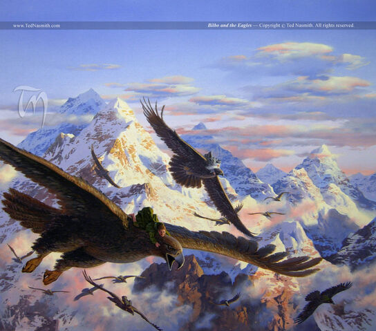 File:Ted Nasmith - Bilbo and the Eagles.jpg