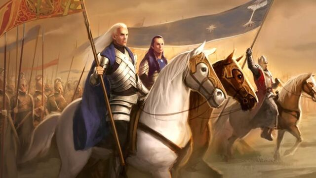 File:Glorfindel, Elrond and King Earnur unite against the Witch-King of Angmar.JPG