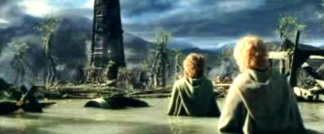 File:The Ents successfully washout the orcs at Isengard.JPG