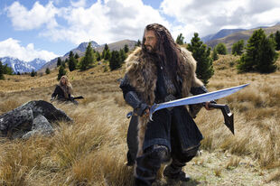 Thorin battle stance