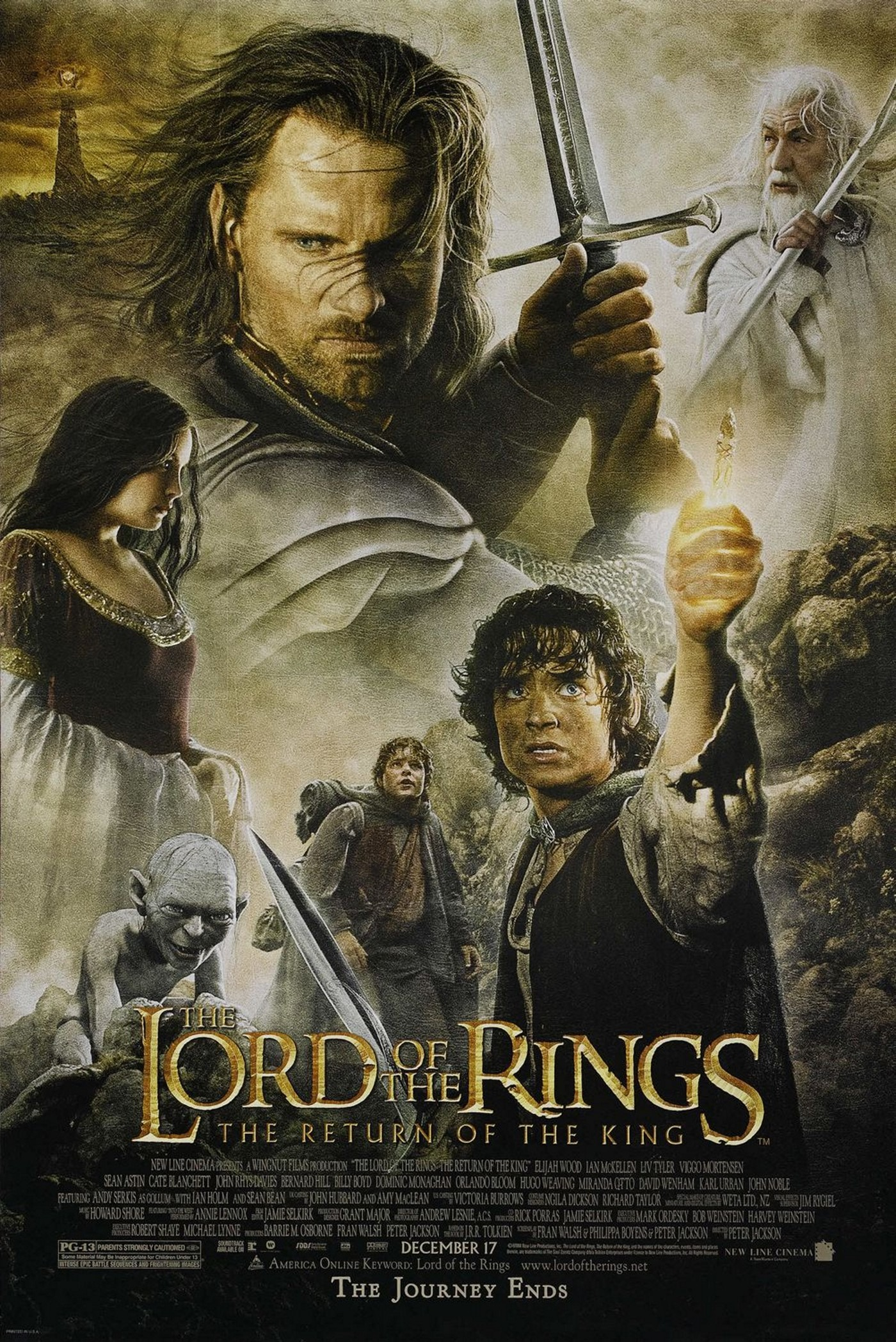 Lord of the rings the return of the king full movie