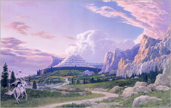 Minas Tirith non-film copy
