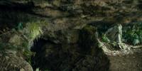 Tom, Bert, and William's cave
