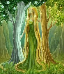 Yavanna the Queen of the Earth by Sedeptra