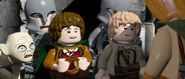 Lego lotr two towers screenshot 2