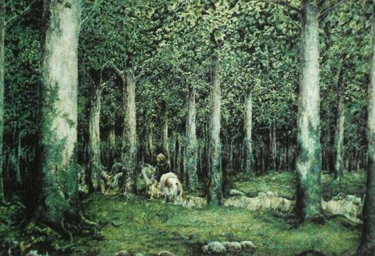 File:Lode Claes - The Old Forest.jpg