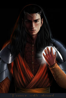 Steamey - Feanor with silmaril