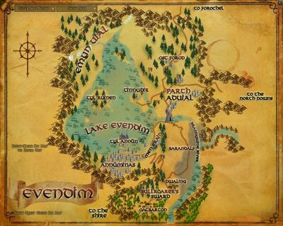 Map - Evendim