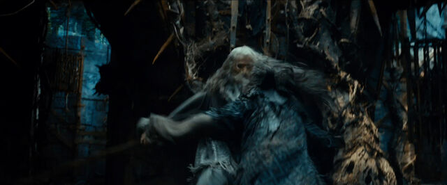 File:Gandalf and Thrain in AUJ teaser.jpg