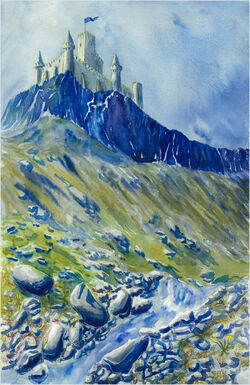 The mountain castle by Losse elda