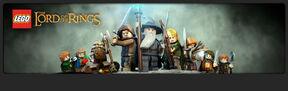 Lego lotr banner