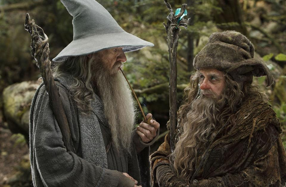 Bilderesultat for The hobbit pics radagast