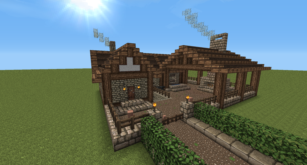 Image Minecraft Medieval Blacksmith Muqq7bvl Png The