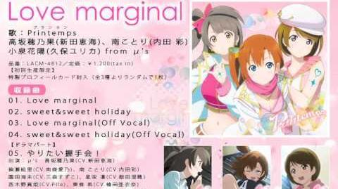 Love marginal PV