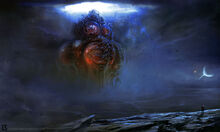 Yog sothoth rising by butttornado-d6ubvy6