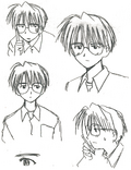Keitaro Original Faces