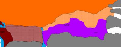 Second Arnor War - Siege of Fornost Map