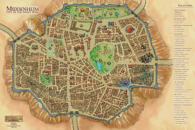 Map City Middenheim