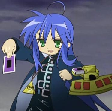 Lucky Star Characters Konata