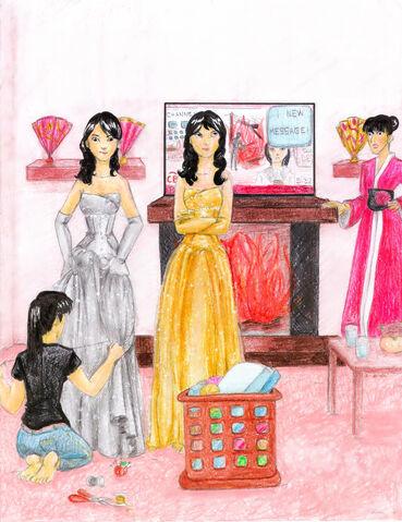 File:Dress Fitting by AbbiDaSquirrel.jpg