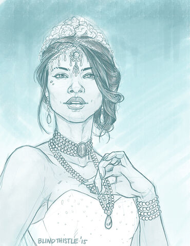 File:Queen Channary rough sketch by Blindthistle.JPG