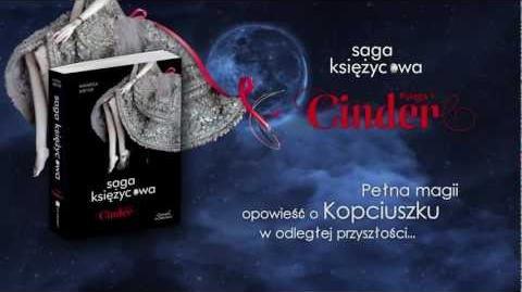 Saga księżycowa. Cinder - Marissa Meyer trailer książki