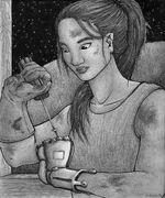 Cinder Portrait by AbbiDaSquirrel