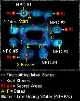Map - Ghost Dungeon - Secret Areas
