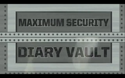 Maximum Security Diary Vault