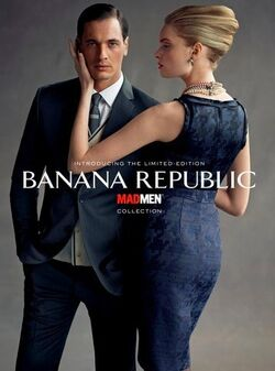 The Mad Men collection for Banana Republic launches August 11