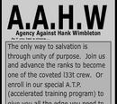 Agency Against Hank Wimbleton
