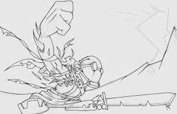 Hank powerfist lineart by krinkels r909-d5d4ekb