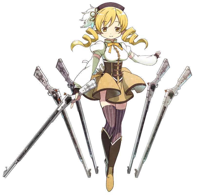 Mami Tomoe The Puella Magi Wiki Fandom Powered By Wikia