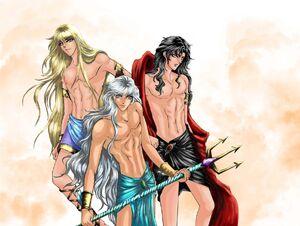 Greek Gods by Shenuba