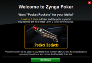 Poker Welcome PocketRockets