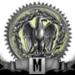 Mwach Meestery riser silver 90x90