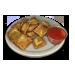 Standard 75x75 dinnerserved toastedravioli 01