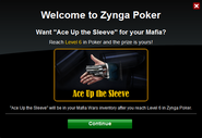 Poker Welcome AceintheSleeve