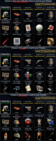 Free Gift Comparison