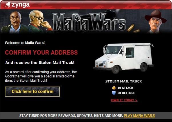 Stolen Mail Truck