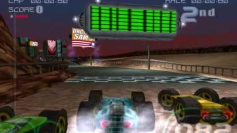 Rollcage Stage II - (PSX) Gameplay