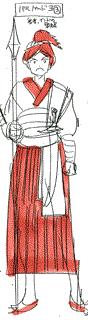 Balbadd's soldier costume
